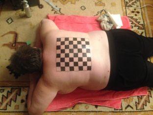 Cameryn Moore%2c human chessboard (nerdfucker)
